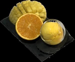 glace Orange Mangue